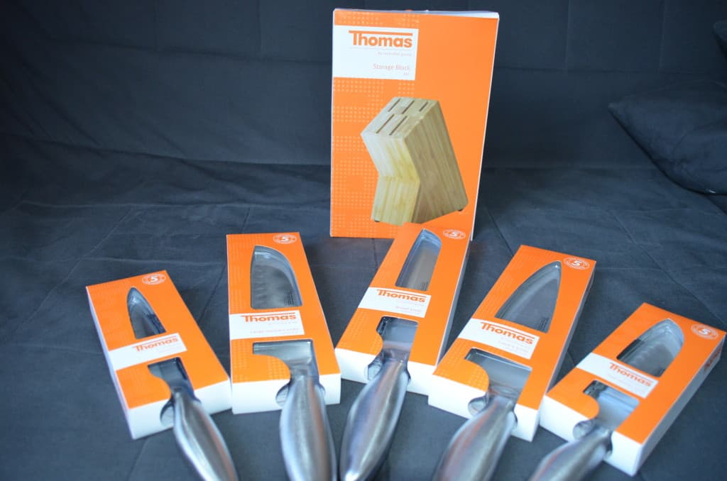 Creative Fruit Cutting With Thomas Kitchen Knives Plus Giveaway