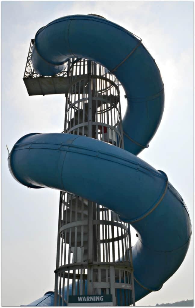 Anaconda Slide at Hatton Adventure World