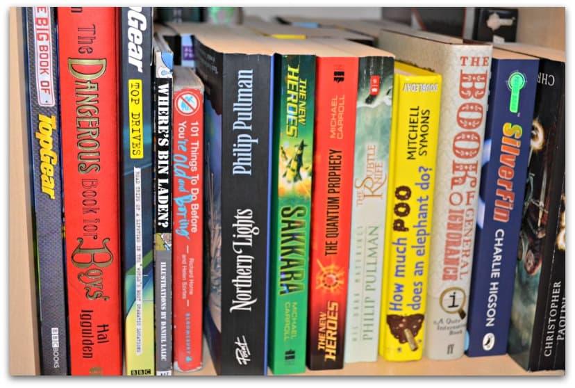 pile of books teen - photo #13