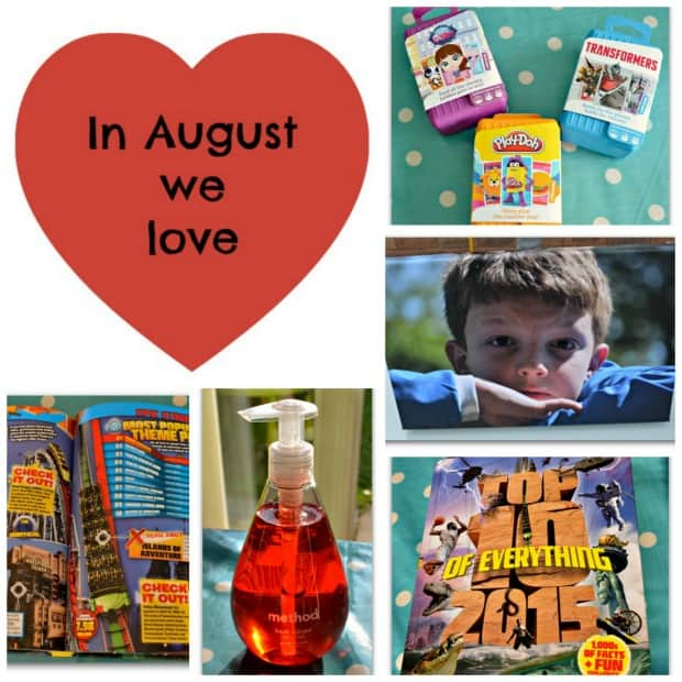 In August we love