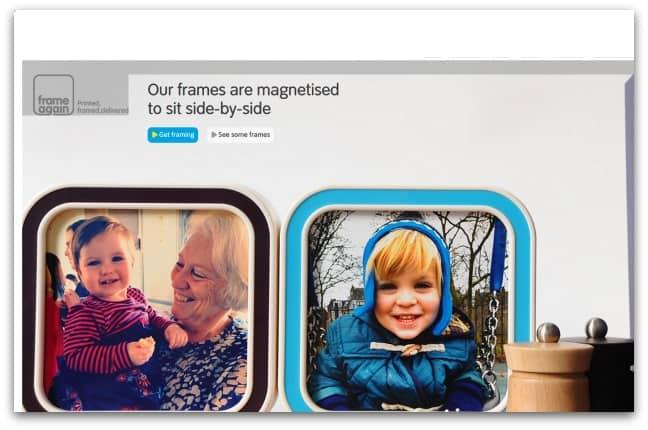 Frame Again Website