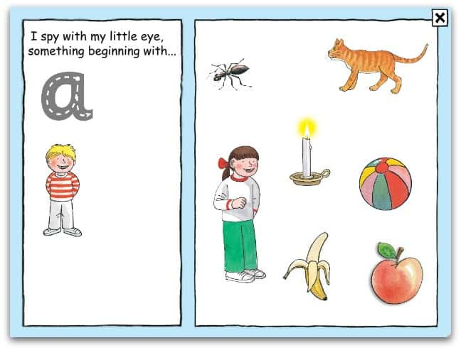 beginning letter worksheets