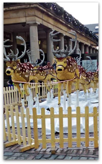 LEGO Reindeer at Covent Garden