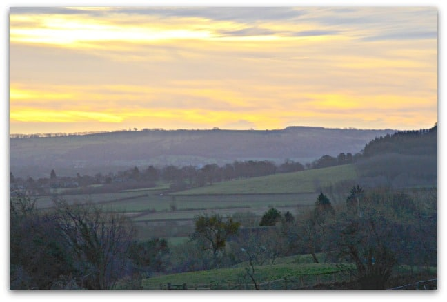 view from Bredon Hill