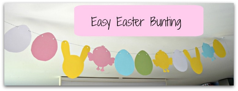 Easy Easter Bunting