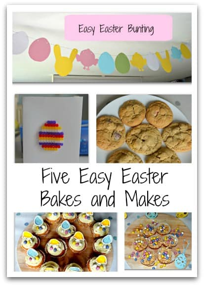Five Easy Easter Bakes and Makes