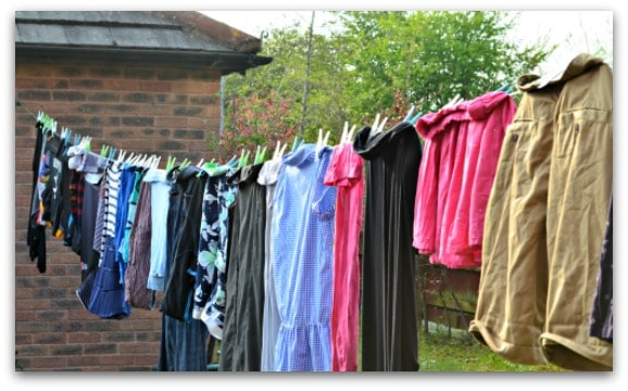 Tales from the washing line