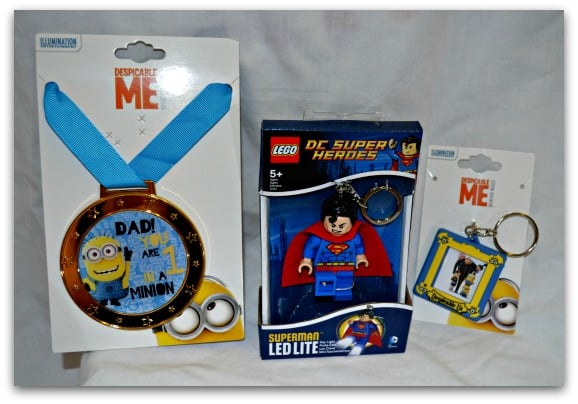 DC Super Heroes LED Light and Minion Father's Day Gift Ideas