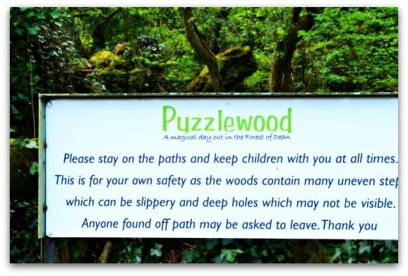 Entering Puzzlewood