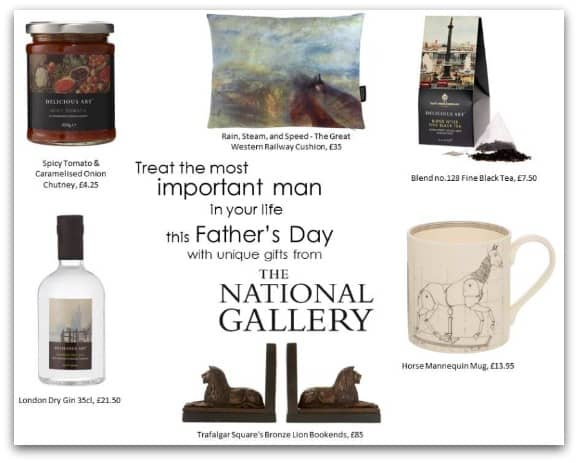 Father's Day gifts from the National Gallery