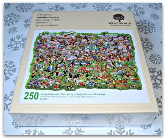 Wentworth Wooden Puzzle Rugby Mishmash