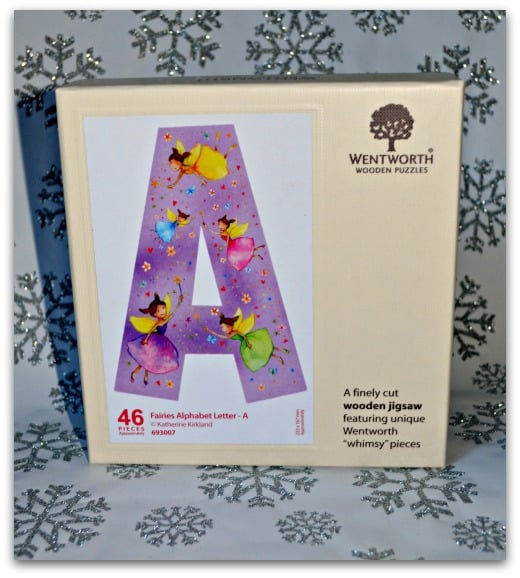 Wentworth Wooden Puzzles Fairy Alphabet Letter A