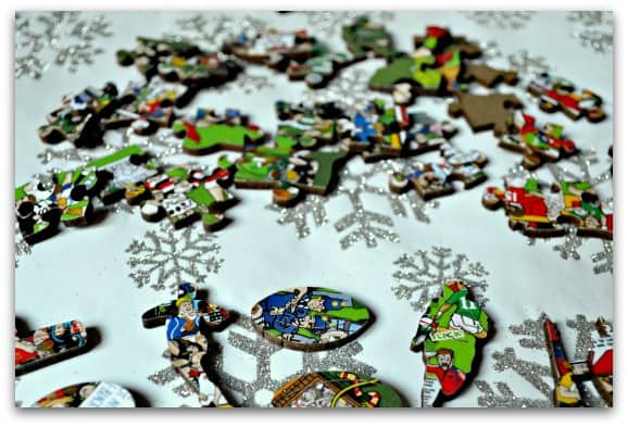Wentworth Wooden Puzzles Rugby Mishmash