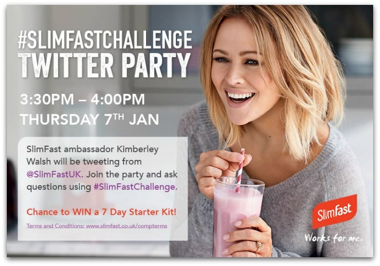 1315 Slimfast Twitter party