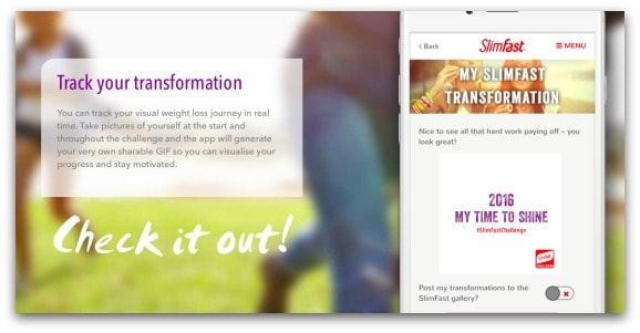 My SlimFast journey so far and the next challenge