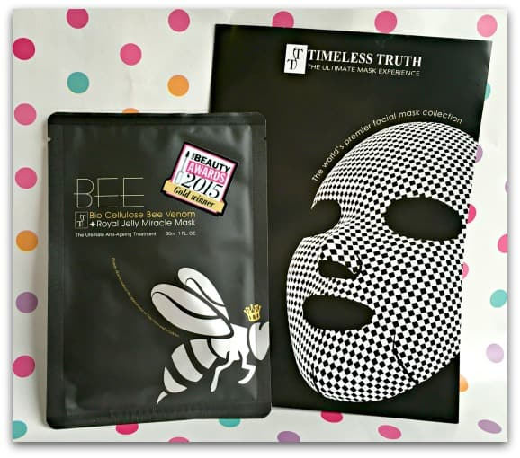 Mother's Day Gift Guide Bee Bio Cellulose Bee Venom and Royal Jelly Miracle Mask