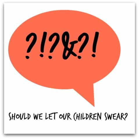 Should we let our children swear?