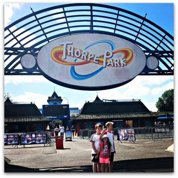 An Angry Bird Sleepover at Thorpe Park with Frubes1