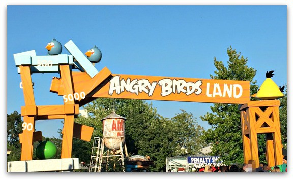 An Angry Bird Sleepover at Thorpe Park with Frubes