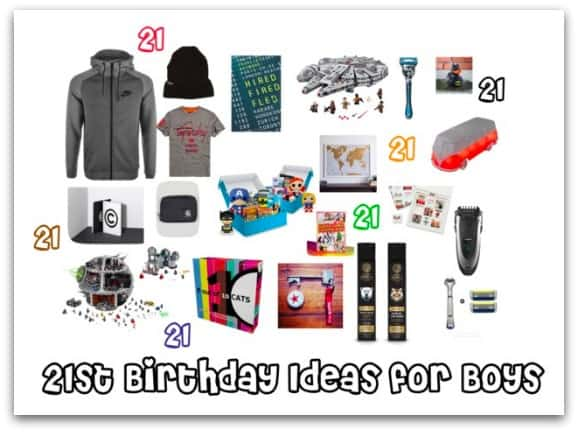 21st Birthday Ideas For Boys