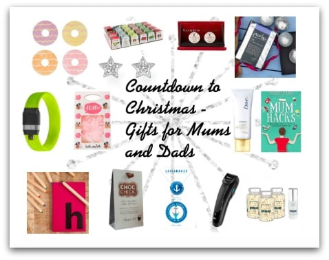 Countdown to Christmas – Gifts for Mums and Dads