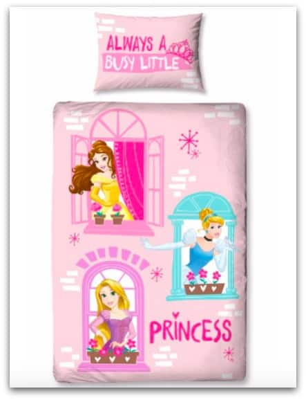 A bedroom fit for a Disney Princess