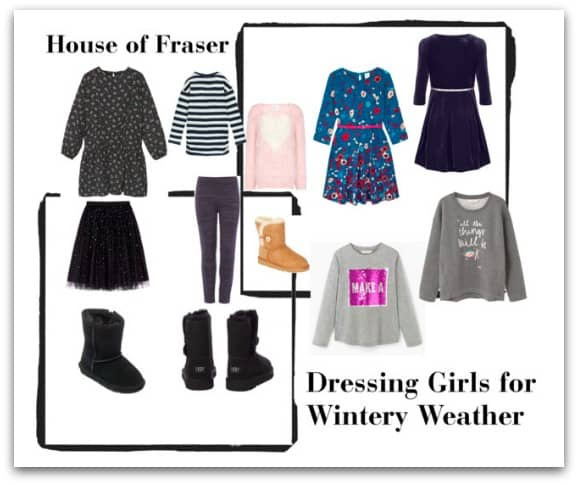 Dressing Girls For Winter Weather