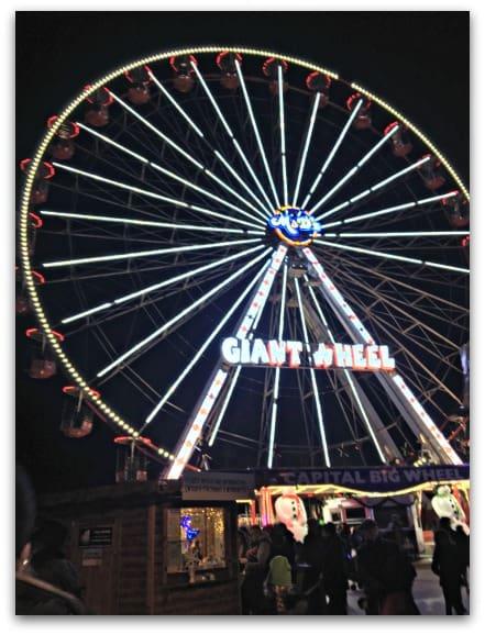 Giant Wheel at Cardiff Winter Wonderland