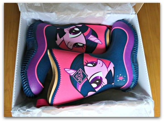 Twilight Sparkle My Little Pony Muck Boots