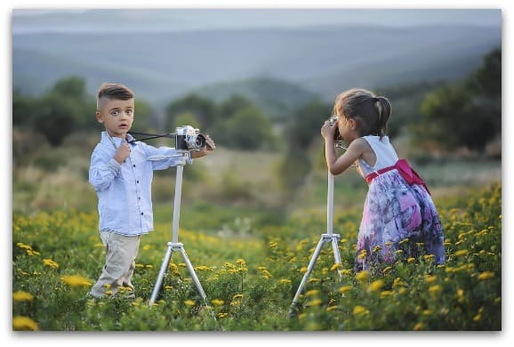 How to choose a camera for a young photographer 1