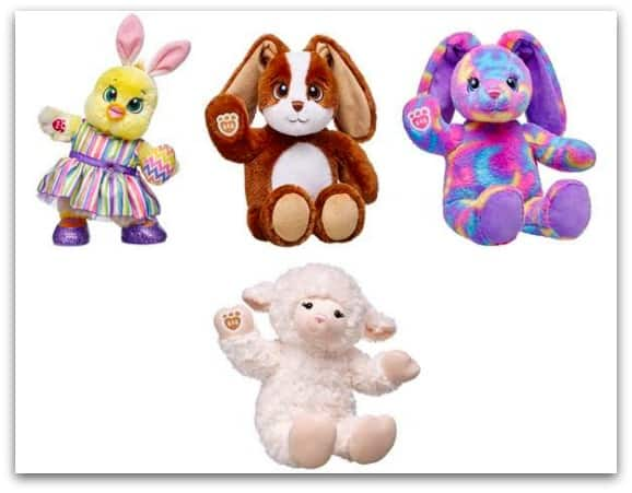 Build-A-Bear Easter Collection