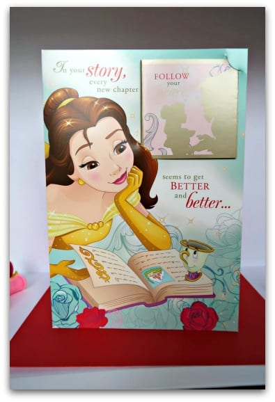 Disney Princess Beauty and the Beast Card from Hallmark