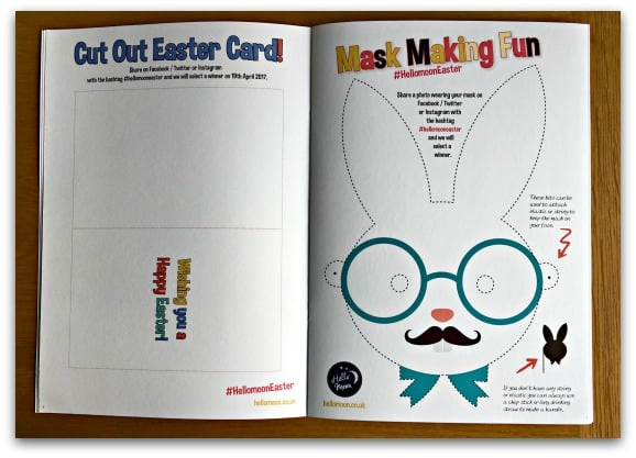 Hello Moon Family Easter colouring Pack 2