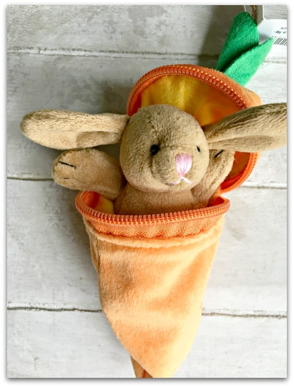 Rabbit in a Carrot by Teddykompaniet from Born Gifted