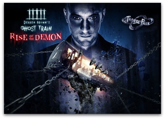 Derren Brown's Ghost Train Rise of the Demon at Thorpe Park