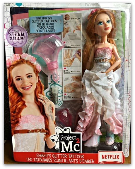 Project MC2 Ember Evergreen 2017 Boxed