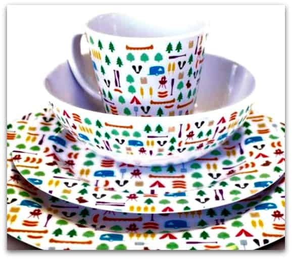 8 piece Berrow Hill Melamine Set - Olpro
