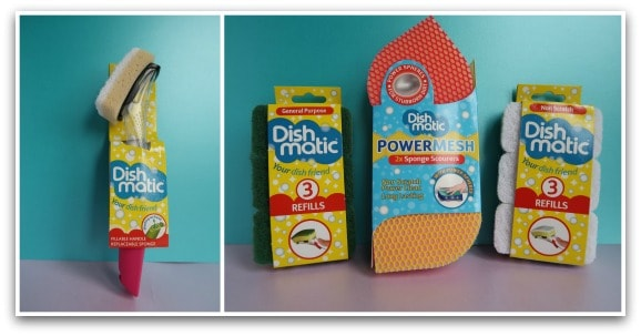 Dishmatic Washing Up Brush and Power Mesh