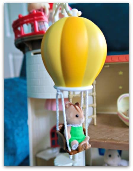Hot Air Balloon Starry Point Lighthouse Sylvanian Families