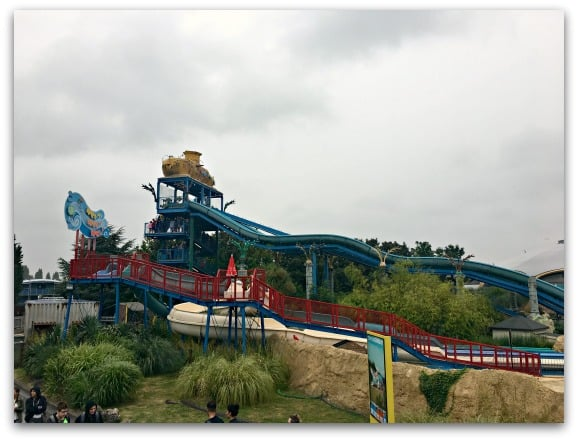 Thorpe Park Depth Charge and Wet Wet Wet