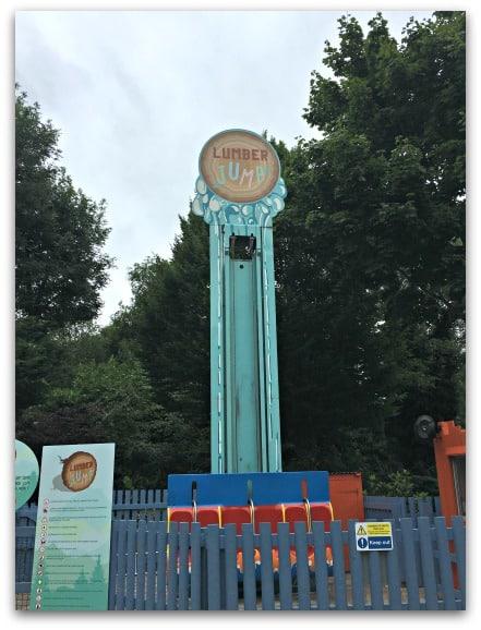Thorpe Park Lumber Jump