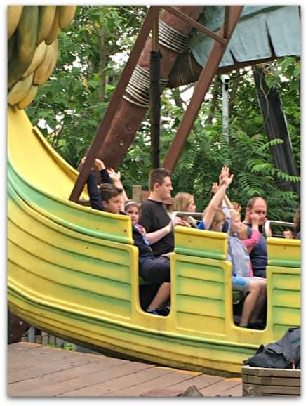 Thorpe Park Mr Monkey's Banana Ride