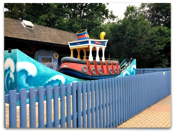 Thorpe Park Timber Tug Boat