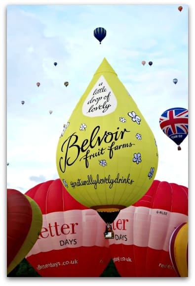 A little drop of Belvoir lovliness at the Bristol International Balloon Fiesta 2017