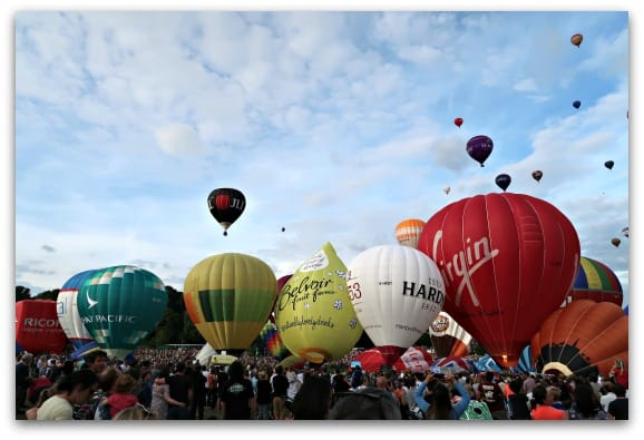 So much colour at the Bristol International Balloon Fiesta 2017