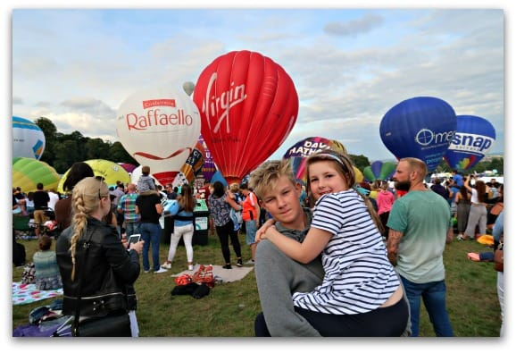 Bristol International Balloon Fiesta is a really great family event