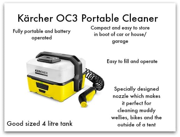Kärcher OC3 Portable Cleaner Overview