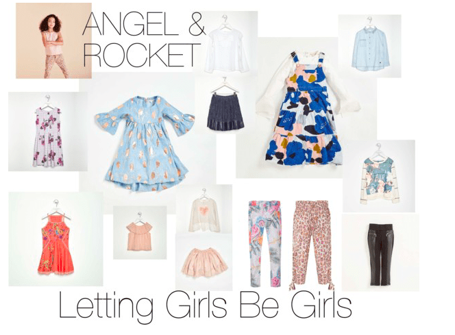 Letting girls be girls with Angel & Rocket