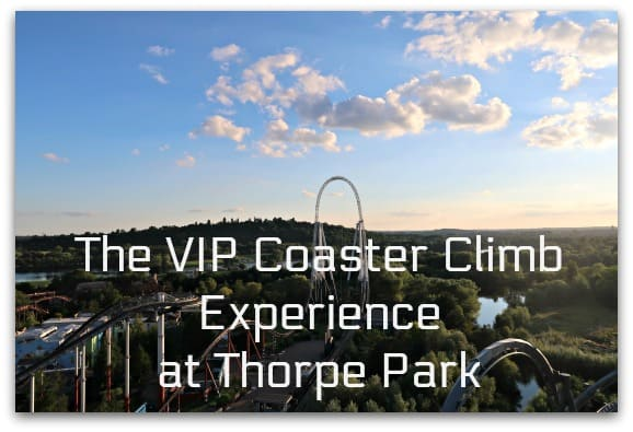 The VIP Coaster Climb Experience at Thorpe Park