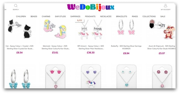 We Do Bijoux Website